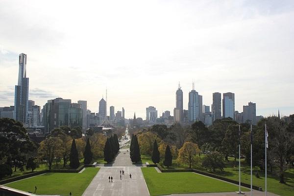 Metropolitan Melbourne in Victoria State Australia