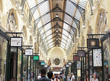 The Royal Arcade in Melbourne